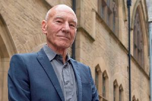 Sir Patrick Stewart, who is from Mirfield. Credit: SWNS