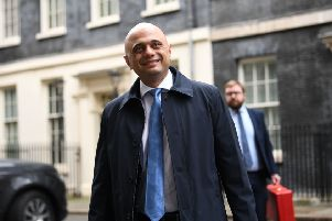 Chancellor of the Exchequer Sajid Javid is expected to attend the Davos summit. Picture: Stefan Rousseau/PA Wire