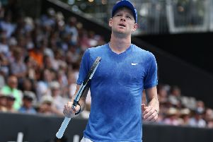 Kyle Edmund of Great Britain reached the Australian Open semi-final in 2018. (Picture: Greg Bowker/Getty Images)