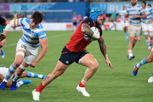 England's Jack Nowell. Picture : Adam Davy/PA