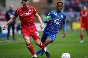 New Sheffield United signing Jack Robinson, pictured in action for previous club Nottingham Forest.