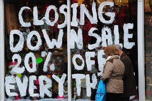 57,000 jobs were lost within the retail sector last year.