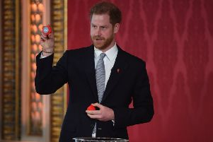 The Duke of Sussex conducted the Rugby League World Cup draw last week.