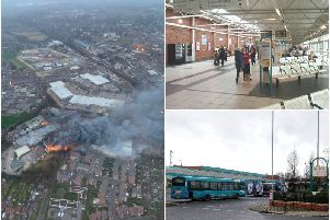 Arriva Yorkshire have thanked staff who volunteered their time to help with evacuation plans during the Speedibake fire in Wakefield. Credit: @NPASNorthEast/JPIMedia