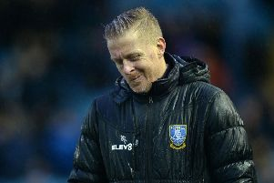 Plenty to think about: Sheffield Wednesday manager Garry Monk after another defeat. Picture: Steve Ellis