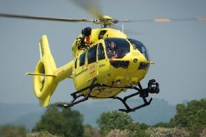 Yorkshire's air ambulance relies on charitable donations
