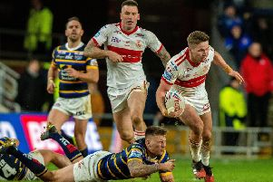 Hull KR's Matt Parcell will miss Thursday's clash with Castleford through injury.' Picture: Bruce Rollinson