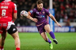 Huddersfield Giants' Aidan Sezer will lock horns with Toronto Wolfpack in his first experience of the Challenge Cup (SWPIX)