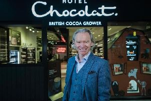 Hotel Chocolat's co-founder and chief executive Angus Thirlwell.