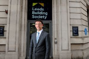 Richard Fearon, CEO of Leeds Building Society, at its head office, Leeds..1st May 2019.Picture by Simon Hulme