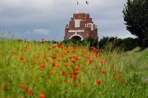 The Duke and Duchess of Cambridge and Prince Harry will attend evening events at the Thiepval Memorial in France. Gareth Fuller/PA Wire.