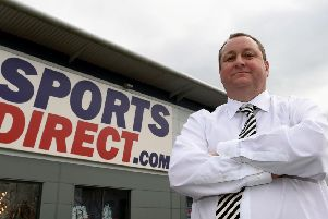 Sports Direct founder Mike Ashley.