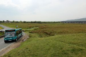 All Aboard! The Country Bus took Twitter by storm on Monday evening as the show gave a two-hour real-time trip on a bus through the Yorkshire Dales. Pictures: Lucy Bowden