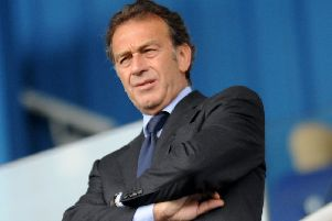 Leeds United owner, Massimo Cellino.