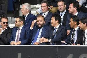 Andrea Radrizzani at Elland Road