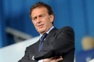 Leeds United owner president Massimo Cellino.'16th August 2015. 'Picture: Jonathan Gawthorpe