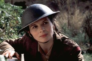 Juliette Binoche in Anthony Minghella's The English Patient