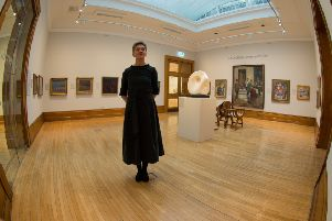 Kirsten Simister, curator of art at the Ferens Gallery. Picture: James Hardisty