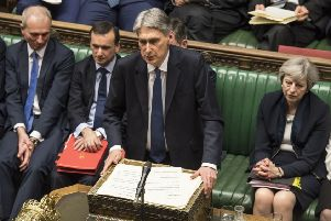 Chancellor of the Exchequer Philip Hammond. Picture by UK Parliament/Mark Duffy