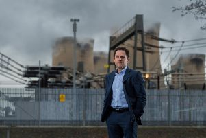 Andy Koss, CEO of Drax Power. Picture: James Hardisty