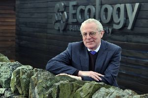Ecology Building Society chief executive Paul Ellis at their offices in Silsden near Keighley.  Picture: Tony Johnson
