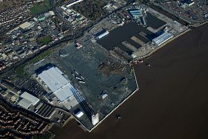 An aerial view of the Siemens site at Green Port Hull. Picture: Siemens