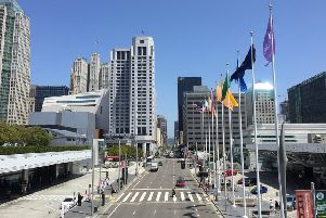 The Moscone Center in San Francisco