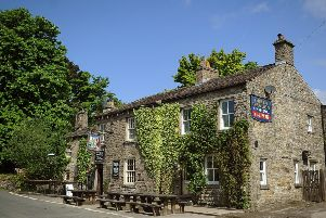 6th June  2013'Famous Hardrow Green Dragon Inn on the market.'Pictured the exterior of the Green Dragon.'Pictuire by Gerard Binks