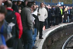 Train services will be affected in Yorkshire today,
