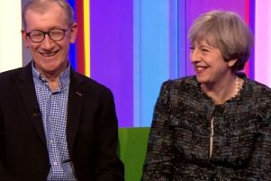 Theresa May did a joint interview with her husband Philip on the BBC's The One Show.
