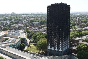 Some people accuse the authorities of a cover-up over the Grenfell Tower tragedy. (PA).