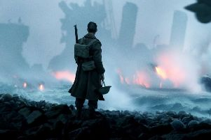 Defiant: The name of the small coastal town of Dunkirk has lodged in the British psyche as a byword for defiance. (Picture: Warner Brothers inc.)