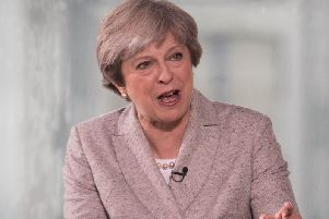 Theresa May faced questions on The Andrew Marr show today