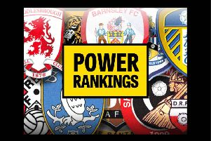 Power Rankings: Sheffield United have moved top of the Yorkshire rankings