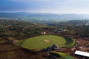 Stunning setting: Rwanda's new 1m international cricket stadium is a symbol of hope for a nation that has rebuilt itself after genocide in 1994. Pictures: Paul Broadie/JonathanGregson