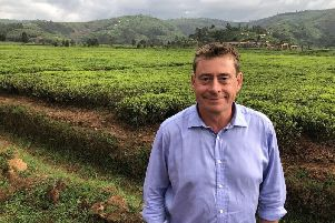 Investment: Taylors of Harrogates head of tea Ian Brabbin has helped develop a scheme to introduce cricket at plantations. Picture: Paul Jeeves.