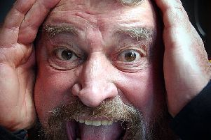 Brian Blessed is returning to Sheffield, his old 'stomping ground', on Friday to talk about his new book. (Simon Hulme).