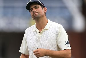 Alastair Cook remains short of runs at the start of England's Ashes tour after his second cheap dismissal in as many innings. (Picture: Nigel French/PA Wire)