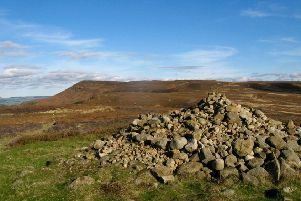 Looking towards Carlton Bank from the cairn on Live Moor