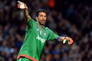 Gigi Buffon retired after the two-leg defeat to Sweden having made 175 caps for Italy