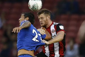 Sheffield United defender Jack O'Connell