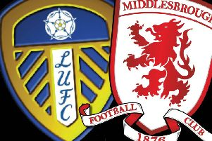 Leeds United meet Middlesbrough at Elland Road on Sunday