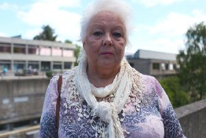 Janet Gill talks about her family's wartime story. (Picture: BBC/Wall to Wall/Richard Ranken).