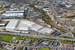 How Peel Logistics' �50 million development on the old Outokumpu site off Shepcote Lane in Sheffield should look.