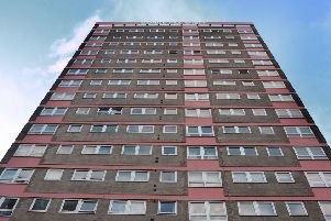 Gamble Hill Croft, Bramley is one of the Leeds tower blocks earmarked for new fire safety work.