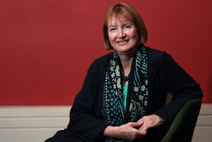 Harriet Harman MP  in Leeds, 25th January 2017.  Pic: Jonathan Gawthorpe