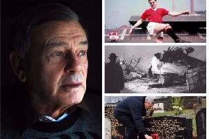 Dickie Bird was a childhood friend of Manchester United hero Tommy Taylor who died in the Munich air disaster 60 years ago today.