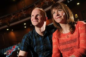 Husband and wife team Conrad Nelson and Deb McAndrew on life after Barrie Rutter at Northern Broadsides. 'Picture Bruce Rollinson