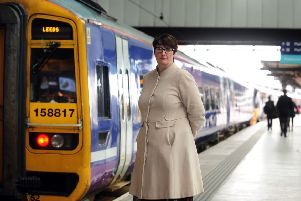 Regional Director of Northern Rail Sharon Keith, pictured at Leeds Railway Station..23rd March 2018 ..Picture by Simon Hulme