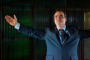 Luke Dickson as Brian Clough in The Damned United.